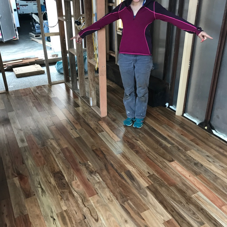 Our BEAUTIFUL Australian hardwood floor!!